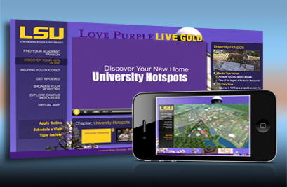 LSU Virtual Campus Experience