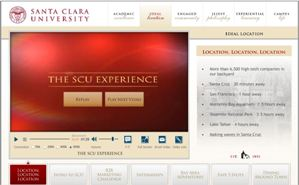 Featured Client: Santa Clara University 
