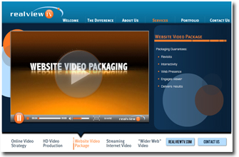 Website Video Packaging