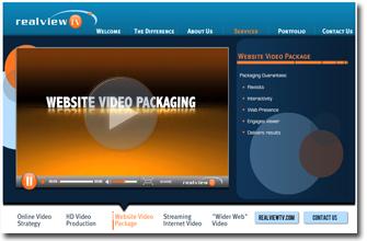 Website Video Packaging